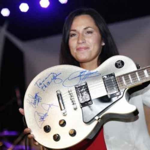 Signierte Gitarren