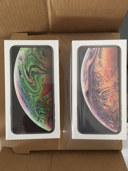 iPhone XS 430EUR Apple iPhone XS Max 550