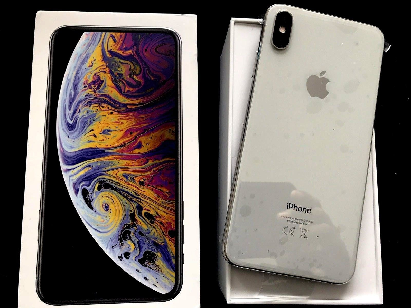 Apple iPhone XS Max 64GB Gold, Silver,